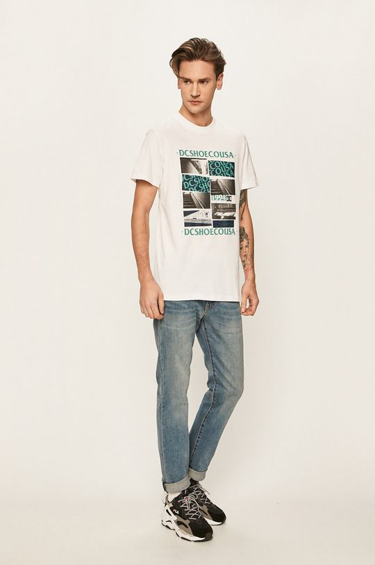 Dc - T-shirt biały