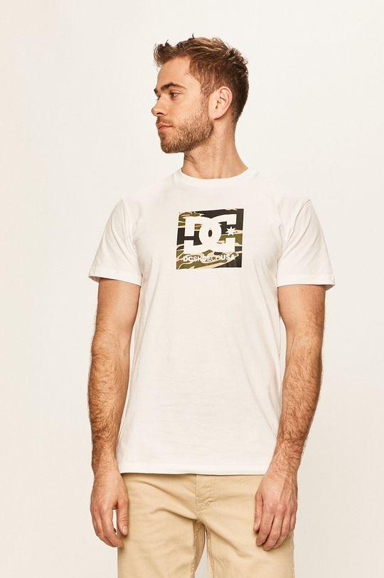 biały Dc - T-shirt Męski