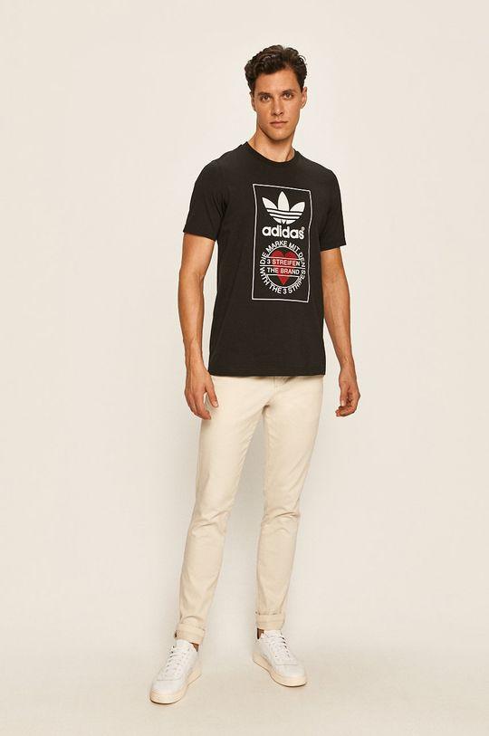 adidas Originals - Tričko černá