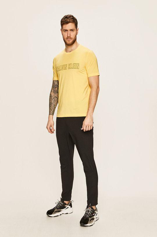 Calvin Klein Performance - Tričko žlutá