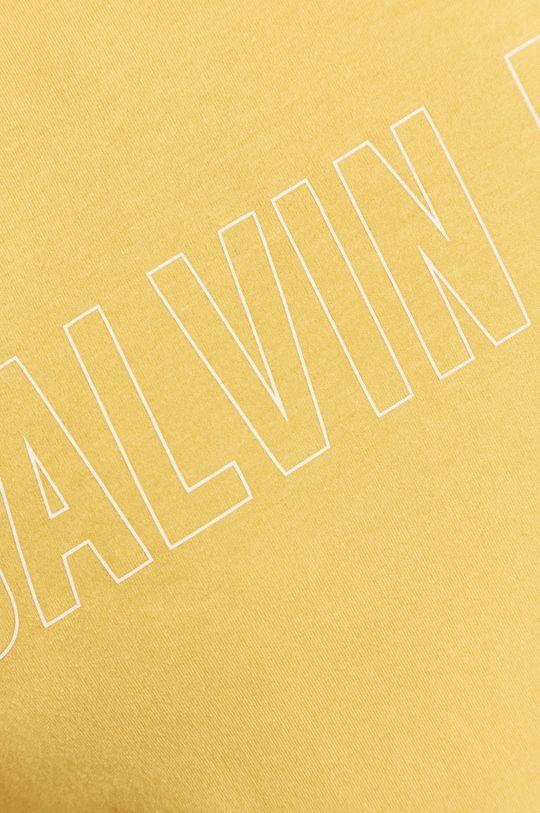 žlutá Calvin Klein Performance - Tričko