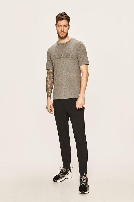 Calvin Klein Performance - Tričko šedá