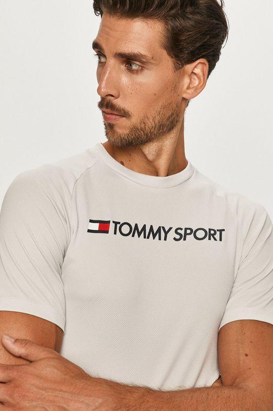 svetlosivá Tommy Sport - Tričko Pánsky