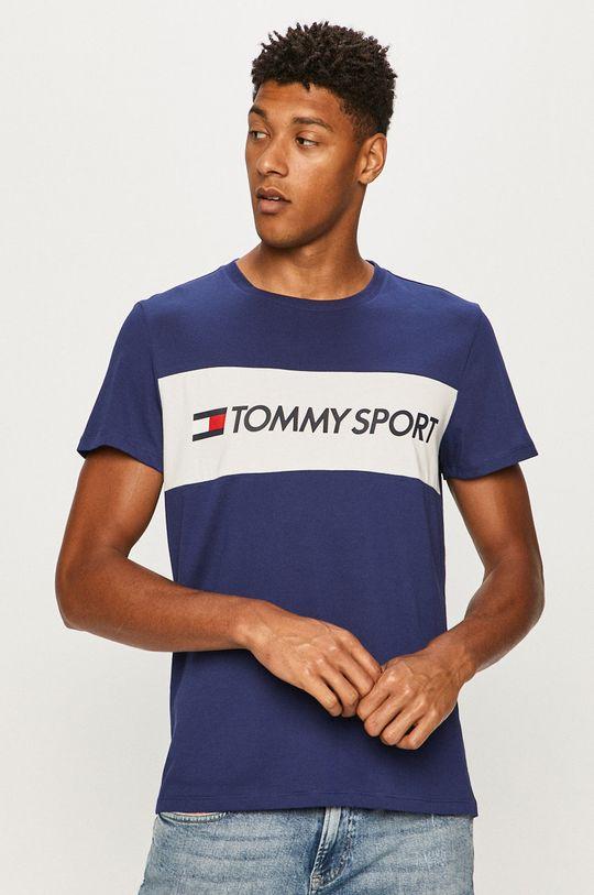 námořnická modř Tommy Sport - Tričko Pánský
