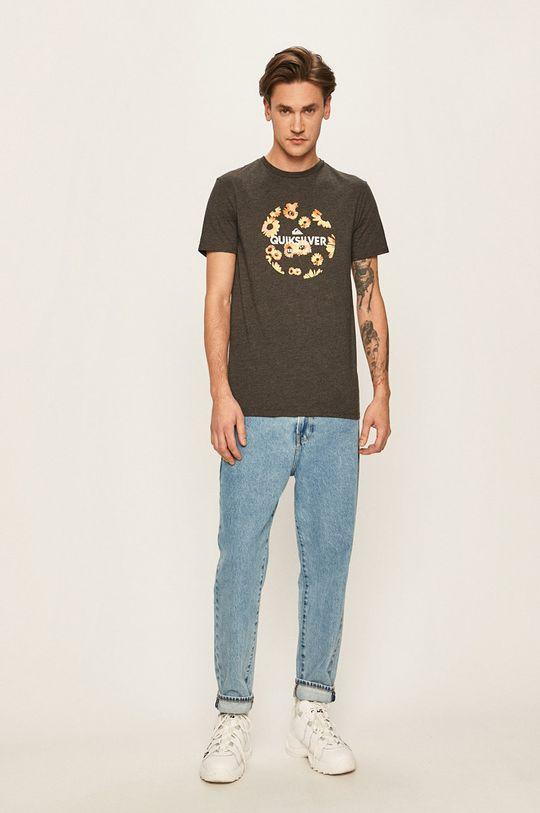 Quiksilver - T-shirt grafitowy