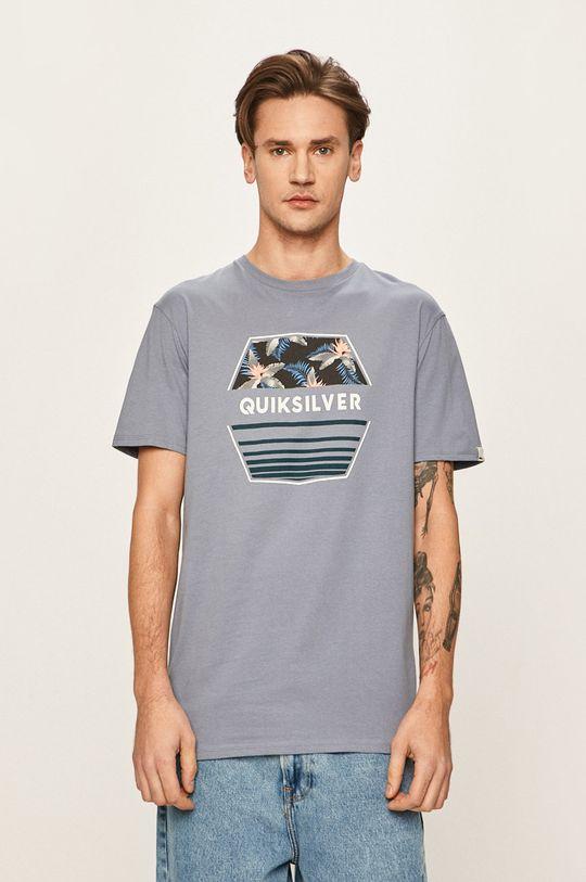 niebieski Quiksilver - T-shirt Męski