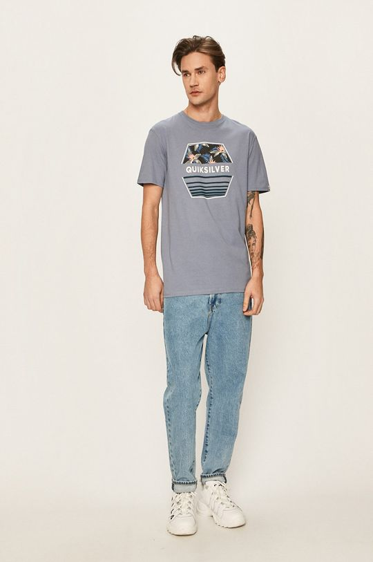 Quiksilver - T-shirt niebieski