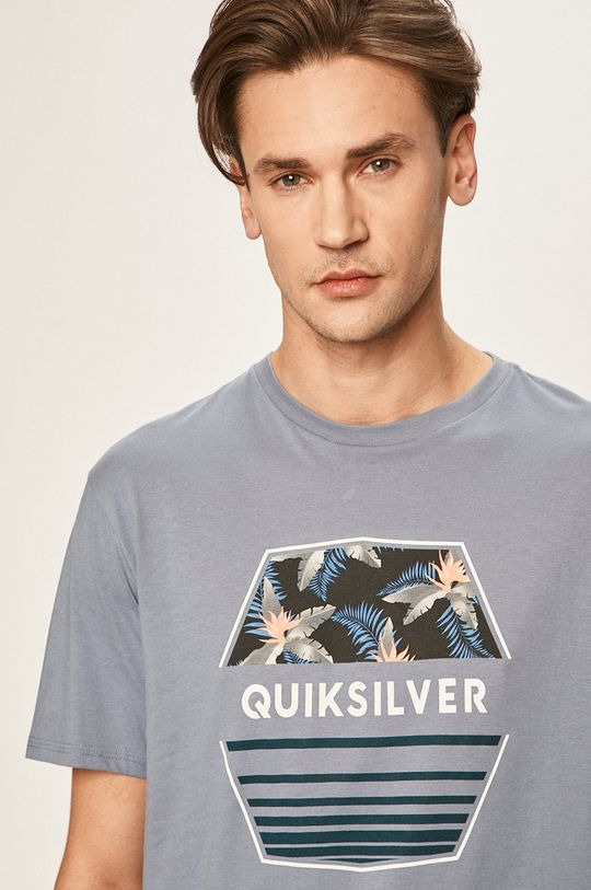 niebieski Quiksilver - T-shirt