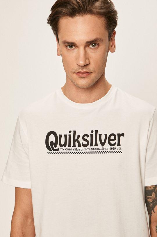 biały Quiksilver - T-shirt