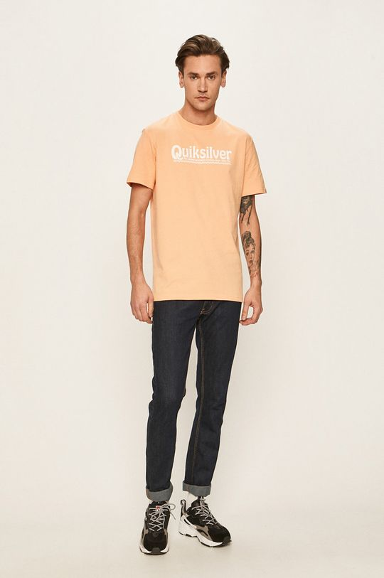 Quiksilver - Pánske tričko oranžová