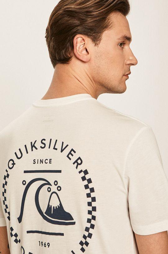 biela Quiksilver - Pánske tričko Pánsky