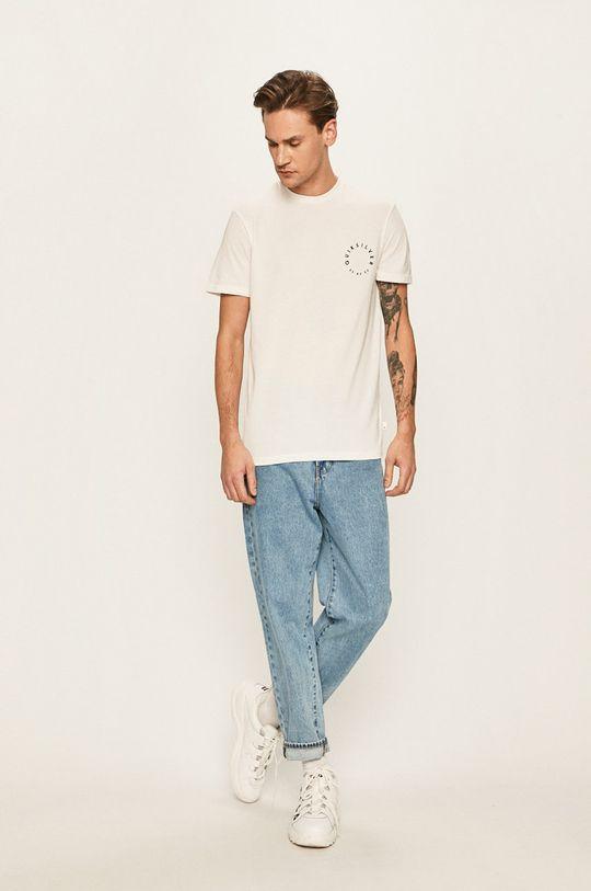 Quiksilver - Pánske tričko biela