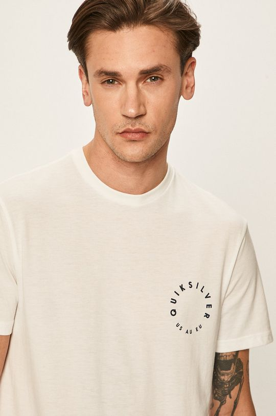 biela Quiksilver - Pánske tričko