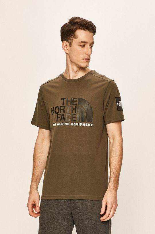 verde murdar The North Face - Tricou De bărbați