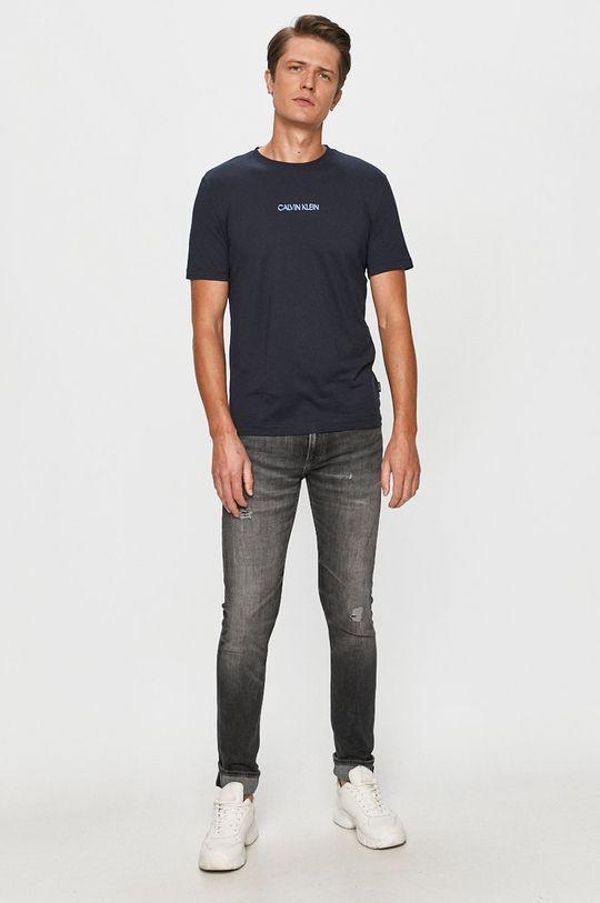 Calvin Klein - T-shirt sötétkék