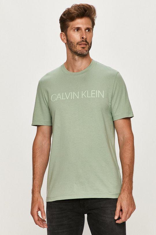 morská modrá Calvin Klein - Tričko Pánsky