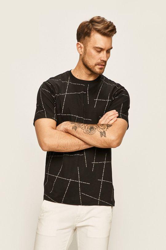 čierna Calvin Klein - Pánske tričko Pánsky