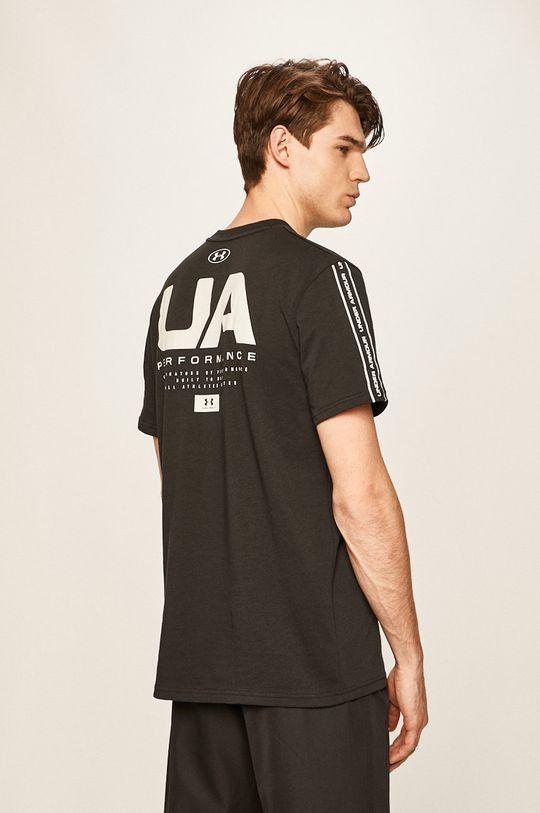 čierna Under Armour - Pánske tričko Pánsky