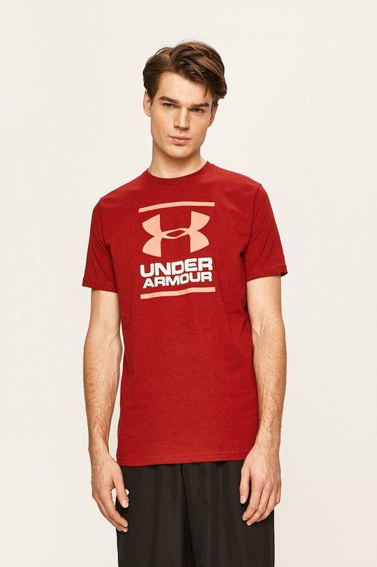 červená Under Armour - Tričko Pánský