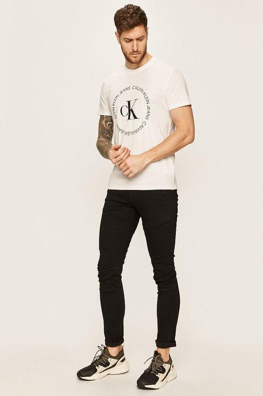 Calvin Klein Jeans - Tricou alb