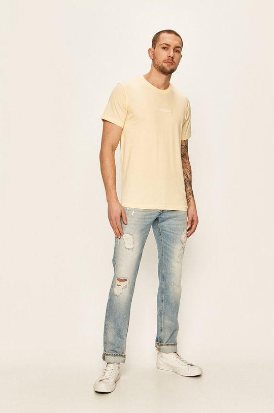 Calvin Klein Jeans - Tričko žlutá