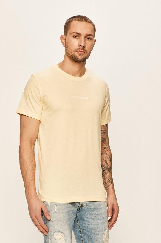 žlutá Calvin Klein Jeans - Tričko