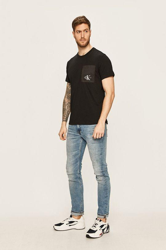 Calvin Klein Jeans - Tricou negru