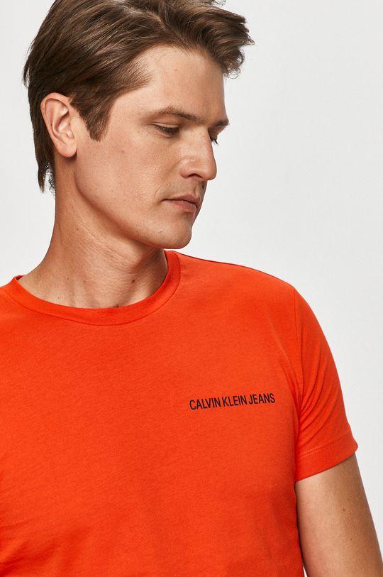 koralová Calvin Klein Jeans - Tričko