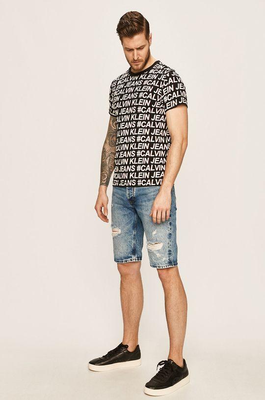 Calvin Klein Jeans - Pánske tričko čierna