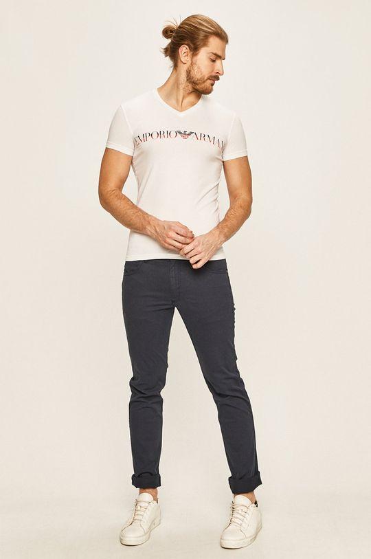 Emporio Armani - Pánske tričko biela