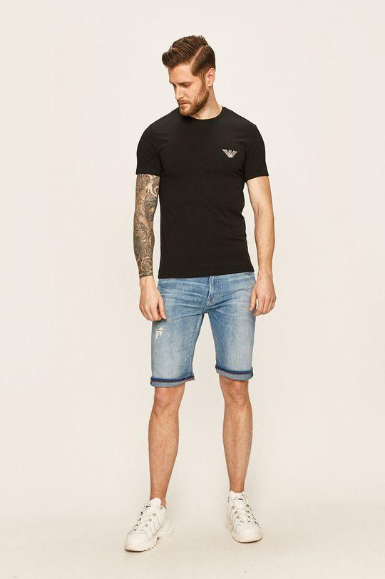 Emporio Armani - Pánske tričko čierna