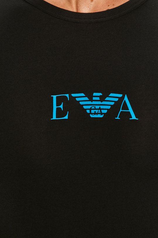 czarny Emporio Armani - T-shirt