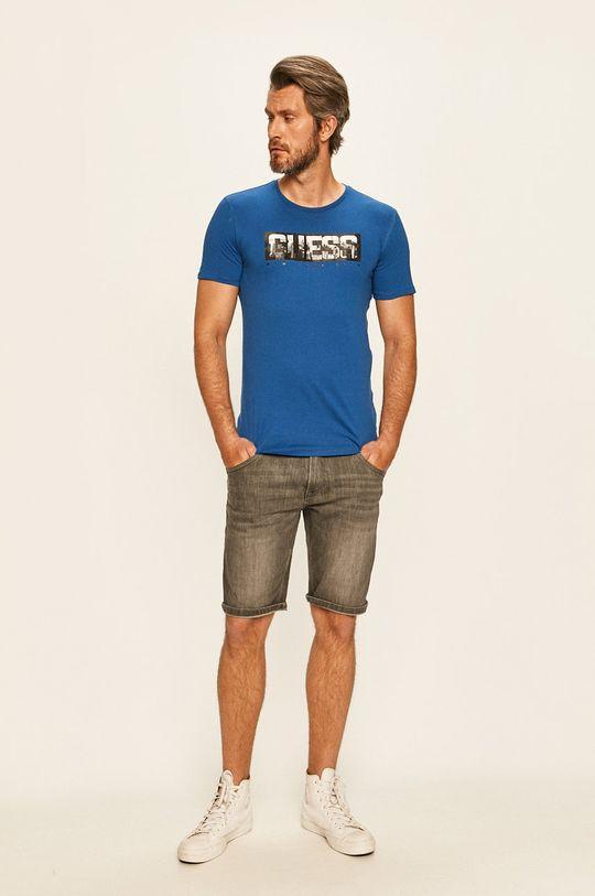 Guess Jeans - Tričko modrá