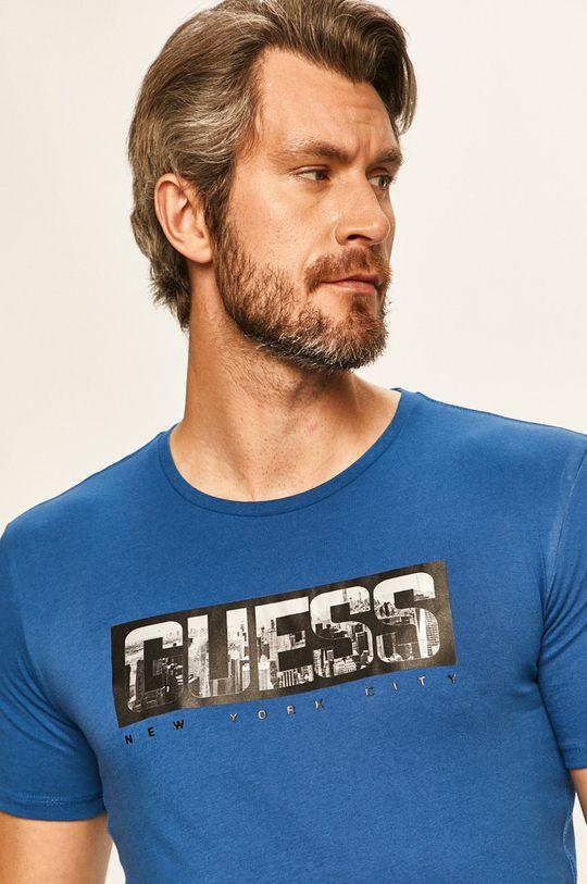 modrá Guess Jeans - Tričko