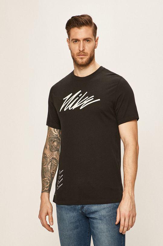 černá Nike - Tričko Pánský
