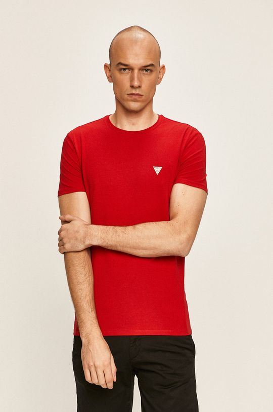 rosu Guess Jeans - Tricou De bărbați