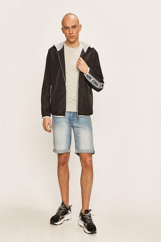 Guess Jeans - Pánske tričko sivá
