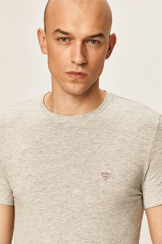 sivá Guess Jeans - Pánske tričko