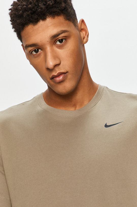 hnedo zelená Nike - Tričko
