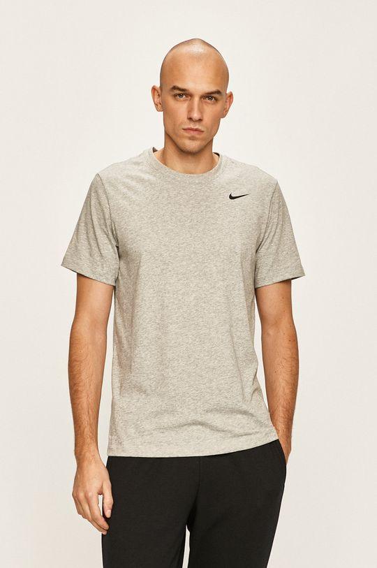 szary Nike - T-shirt Męski