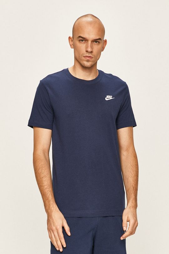 granatowy Nike Sportswear - T-shirt Męski