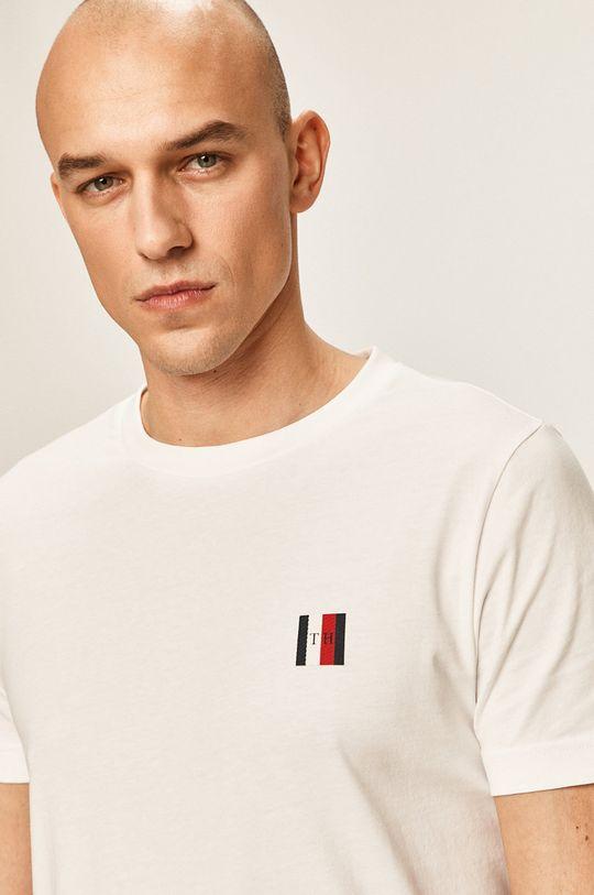 biela Tommy Hilfiger - Pánske tričko