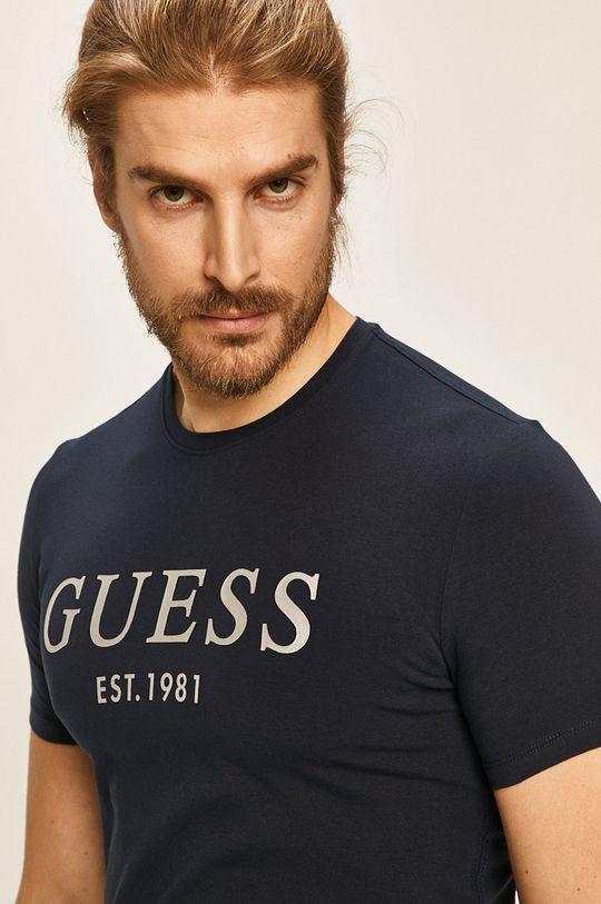 tmavomodrá Guess Jeans - Pánske tričko
