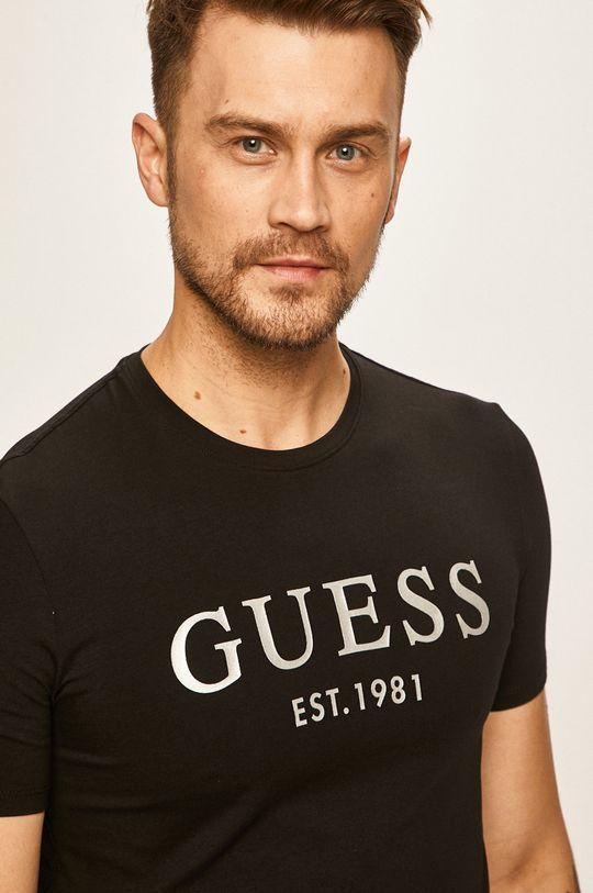 čierna Guess Jeans - Pánske tričko