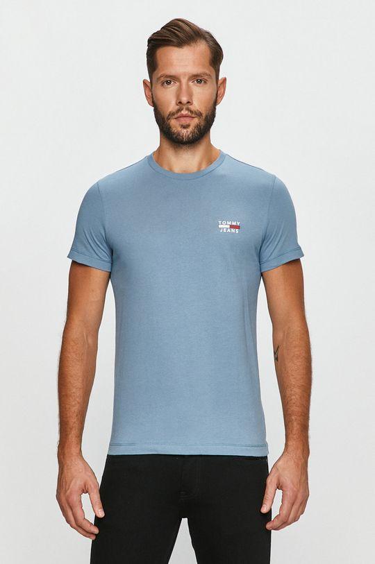 světle modrá Tommy Jeans - Tričko Pánský
