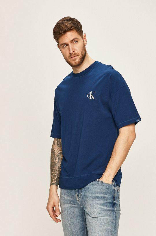 námořnická modř Calvin Klein Underwear - Tričko CK One Pánský
