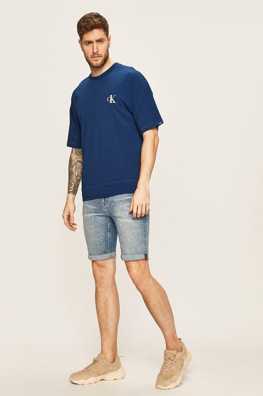 Calvin Klein Underwear - Tričko CK One námořnická modř