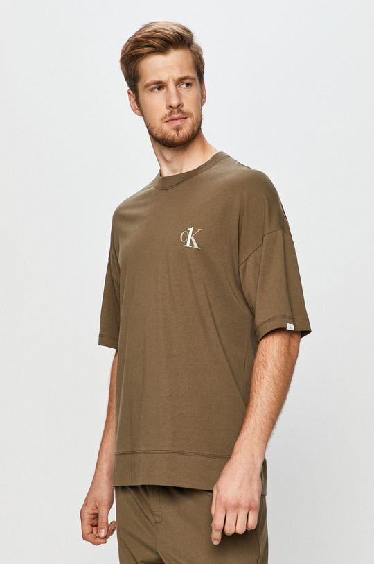 olíva Calvin Klein Underwear - T-shirt Férfi