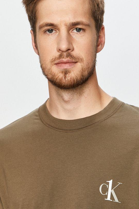 Calvin Klein Underwear - T-shirt olíva