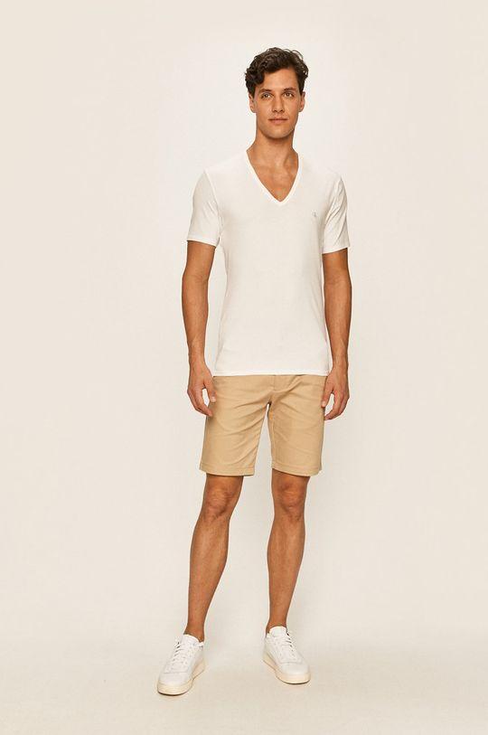 Calvin Klein Underwear - Tričko (2-pack) bílá